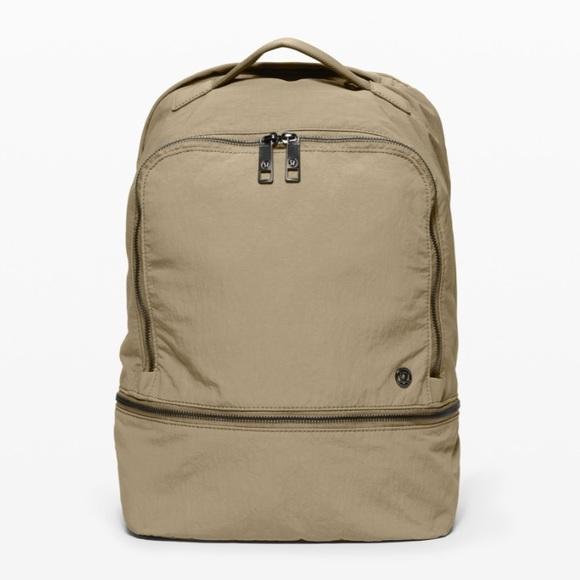 Lululemon City Adventurer Backpack Tan NWT 17L